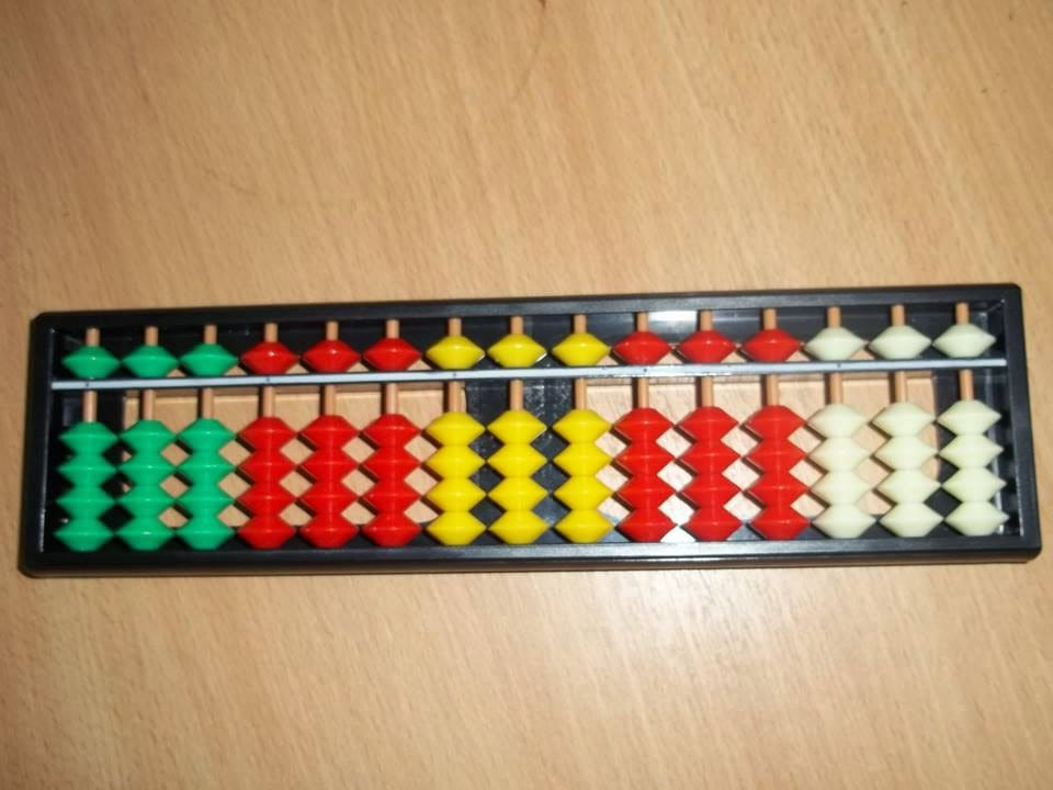 Abacus 17 tiges